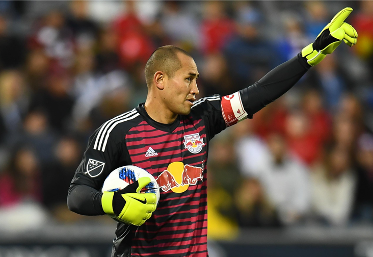 Luis Robles. Credit to New York Red Bulls
