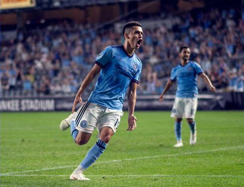 NYCFC 7/14 Goal