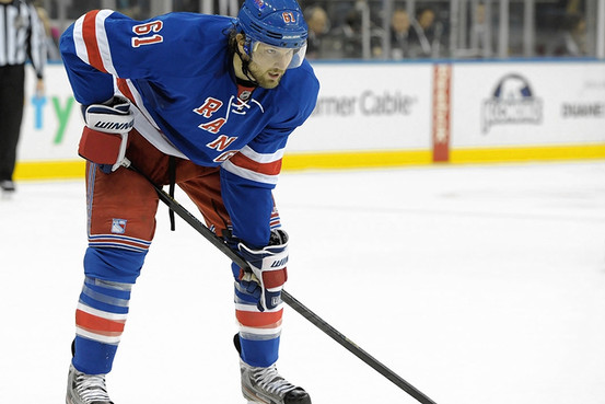 Rick Nash ready for the SO (Getty Images)